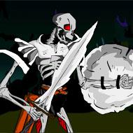Skeleton King Ghost Land