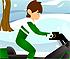 Ben 10 Snow Biker